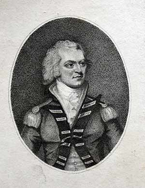 1823 Georgian Print ~ Admiral Lord Viscount Exmouth Art