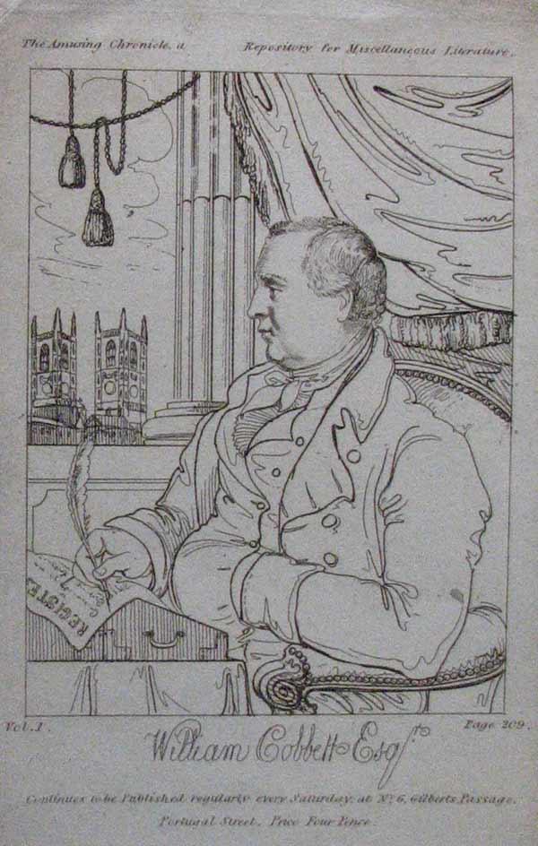 william cobbett 1830 essays