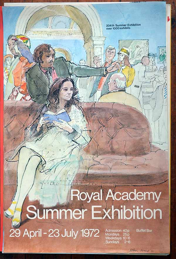 Entertainment Memorabilia 1972 The Age Of Charles I Painting At The Tate Gallery Poster Vintage Original Rich And Magnificent
